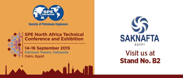Saknafta achieved a positive participation in the 2015 SPE North Africa Technical Conference and Exhibition, big number of visitors to our booth